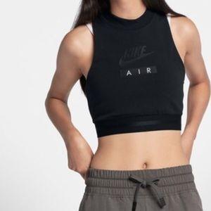 Nike Air • Crop top black